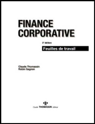 finance corporative de claude thomassin et robin gagnon pdf